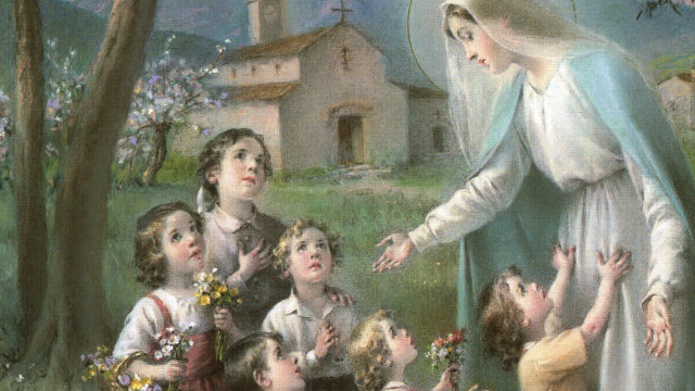 praying the rosary with children � mercy for marthas